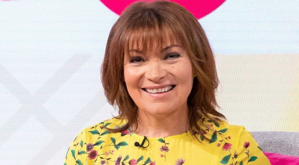 Lorraine Kelly shares rare snap with husband Steve as they celebrate anniversary