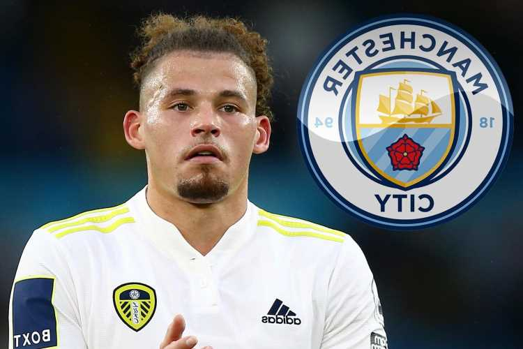 Man City chasing Kalvin Phillips as transfer replacement for Fernandinho with Leeds' England star available for £26m