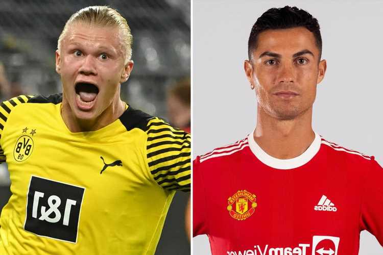 Man Utd think Cristiano Ronaldo can be their secret weapon as they make Erling Haaland top transfer target next summer