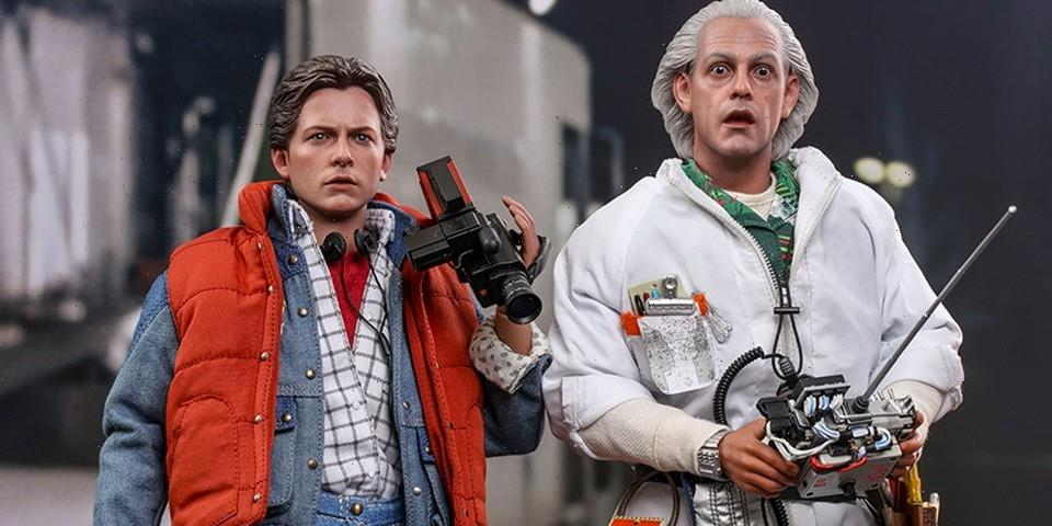 Marty McFly and Doc Brown from 'Back to the Future' Make Their Hot Toys Debut