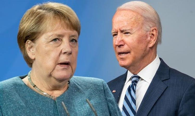 Merkel and Biden shamed for 'pact' to let Putin exploit Europe – UK faces gas rationing