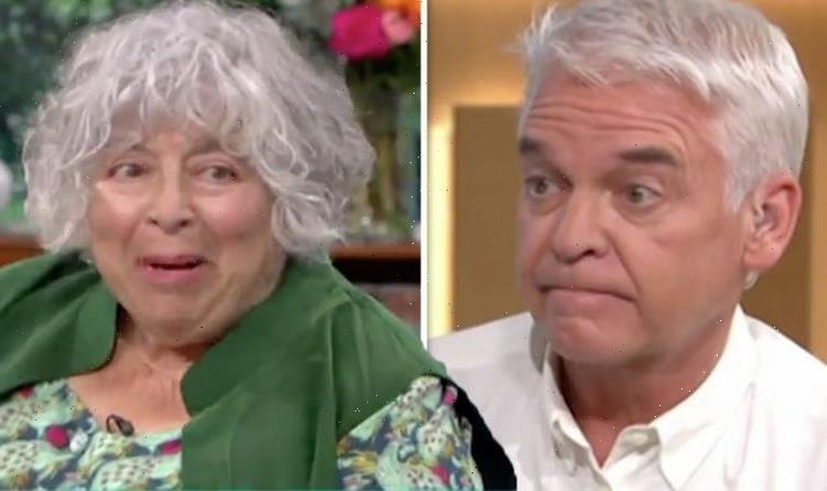 Miriam Margolyes stuns Phillip Schofieldas she insistsshe knew he was gay 'You're camp'