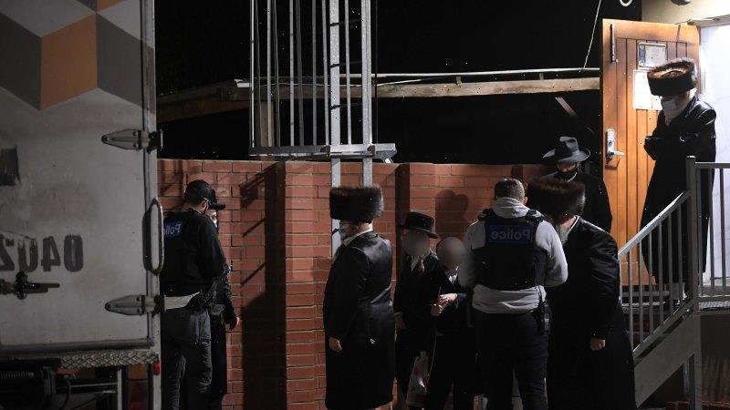 More Ripponlea worshippers fined, as video reveals some entering via roof