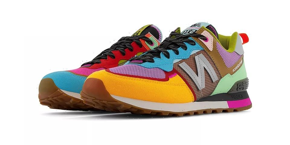 """New Balance 574v2 """"Pink Glo"""" Has an Array of Vibrant Accents"""