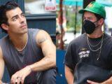 Nick & Joe Jonas Step Out Separately in New York City