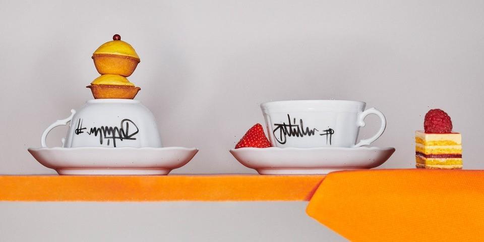Off-White™ Presents Graffiti-Inspired Tableware With Ginori 1735