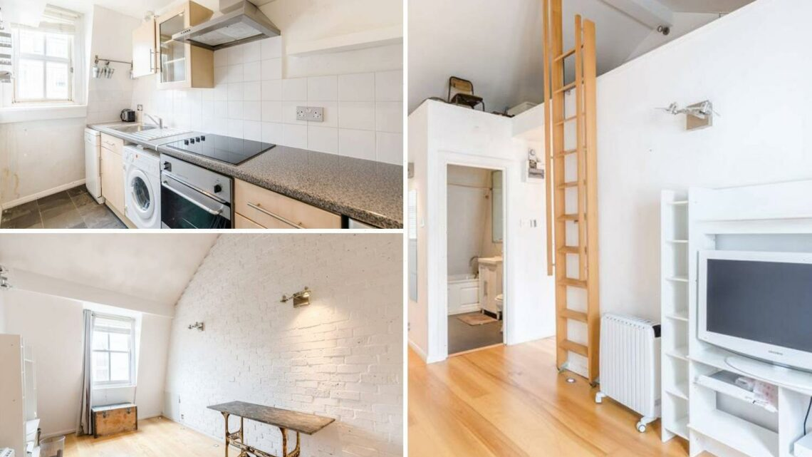 One-bed London flat is £2,800-a-month and you'll need to be flexible to reach the bed
