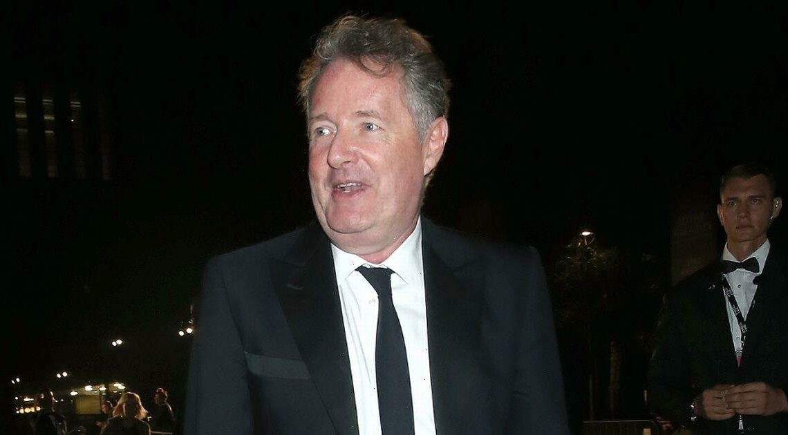 Piers Morgan almost knocked himself reading out stunning Daily Star front page