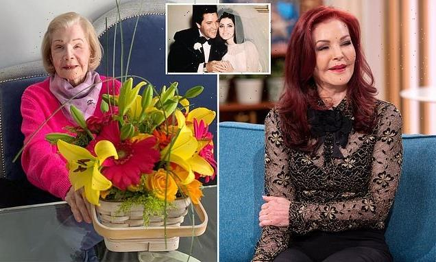 Priscilla Presley played Elvis' music for her mother on her deathbed