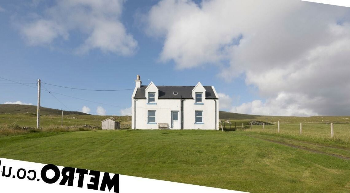 Remote cottage on the Isle of Harris goes on sale for the first time in 15 years