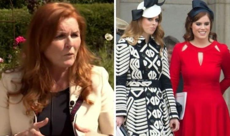 Sarah Ferguson details the advice she gives to daughters Eugenie and Beatrice 'every day'