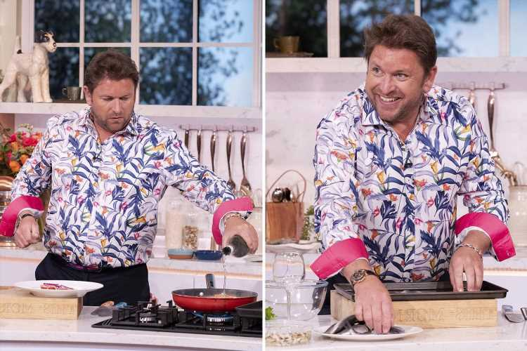 This Morning fans all have the same complaint about James Martin during latest cooking segment