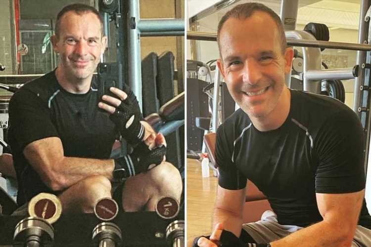 This Morning star Martin Lewis shocks fans as he shows off incredibly muscly arms