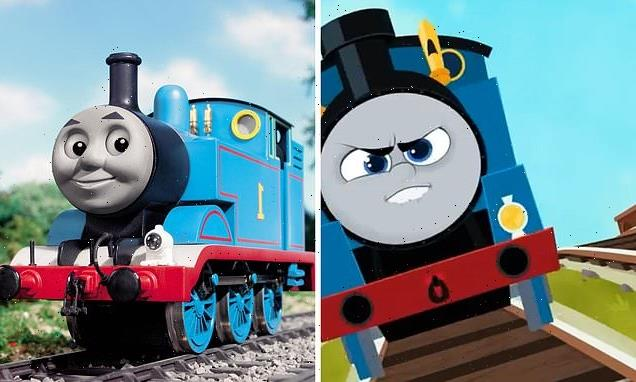 Thomas the Tank Engine's new look so 'menacing' it's made children CRY