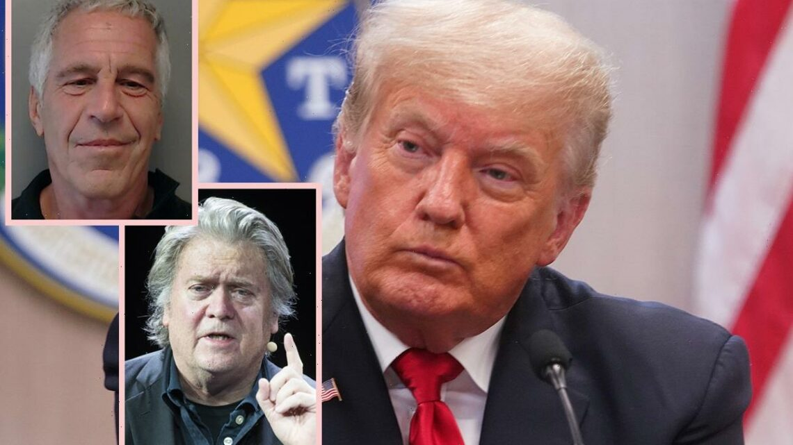 Trump Chief Strategist Steve Bannon Coached Jeffrey Epstein On How To Be 'Friendly' & 'Sympathetic' On TV!