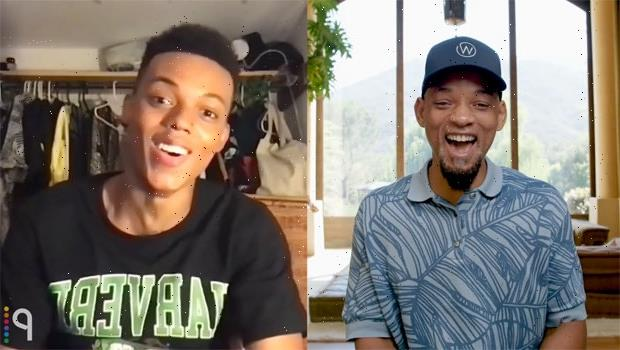 Will Smith Surprises Newcomer Jabari Banks With Role Of A Lifetime In 'Fresh Prince' Reboot — Watch