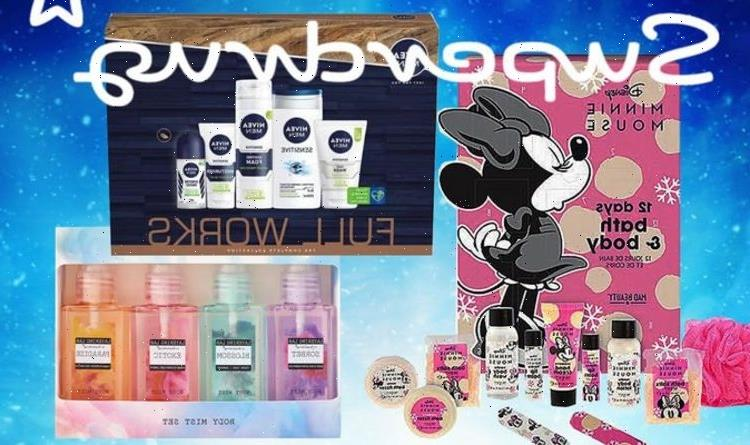 50% slashed off Christmas gift sets from Disney, NIVEA, Lynx, and more from Superdrug