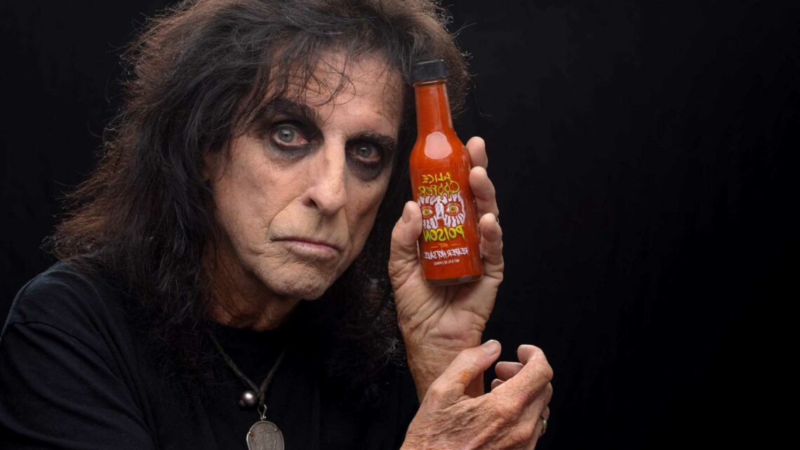 Alice Cooper on One-Year Anniversary of Hot Sauce Launch: 'We Keep it Rock and Roll'