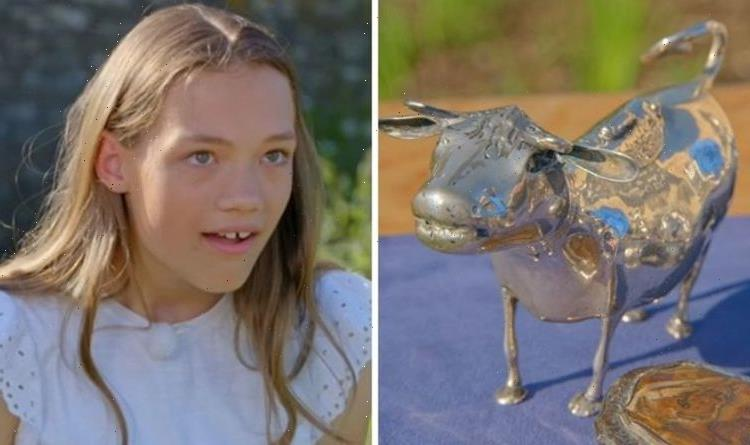 Antiques Roadshow guests speechless over value of silver cow 'That's a lot of money!'