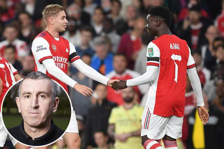 Arsenal legend Nigel Winterburn insists Gunners MUST build team around exciting pair Bukayo Saka and Emile Smith Rowe