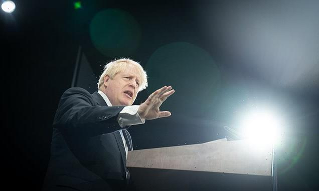 Boris Johnson's Conservative Party conference speech in full