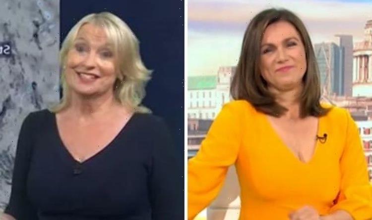Carol Kirkwood savaged by GMB star over Susanna Reid comparison: 'Don't see it'
