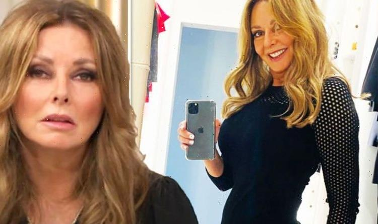 Carol Vorderman, 60, showcases curves in tight outfit as she bids farewell to BBC co-star