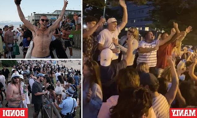 Chaotic scenes at Bondi Beach and Manly ahead of freedom day