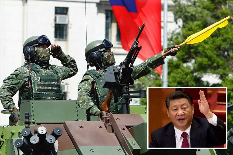 China sparks WW3 fears as Taiwan vows 'never to bow' to Beijing in island dispute