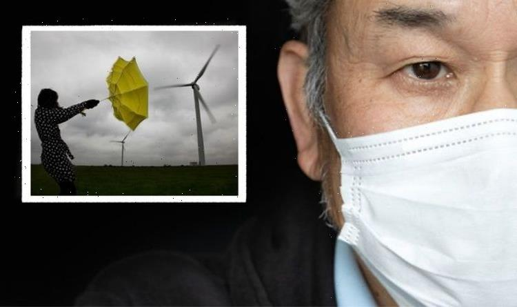 Coronavirus: Scientists find how you can cut risk of catching Covid even when it's windy