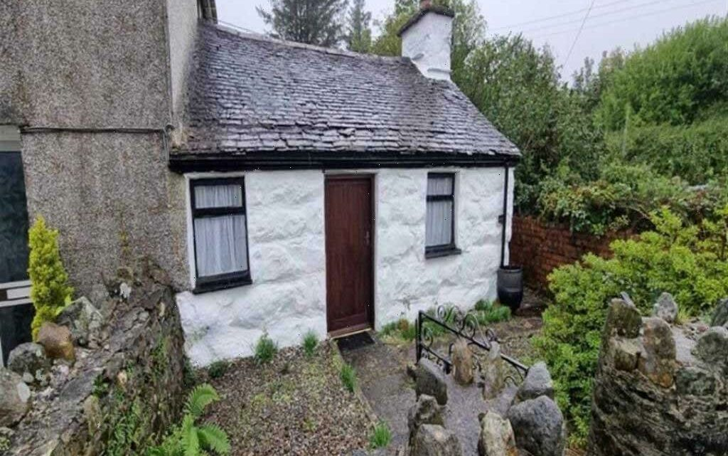 Cottage on sale for just £35,000 but it's so tiny you need to fold your bed away and the toilet is in the garden shed