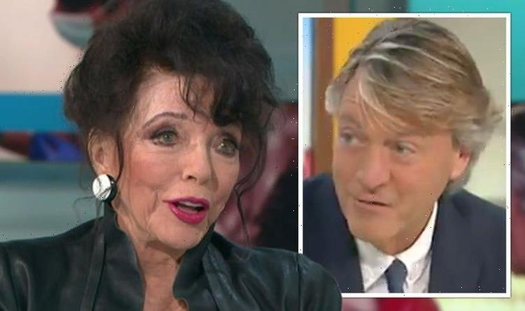 Dame Joan Collins horrified as Richard Madeley claims shes only nice sometimes