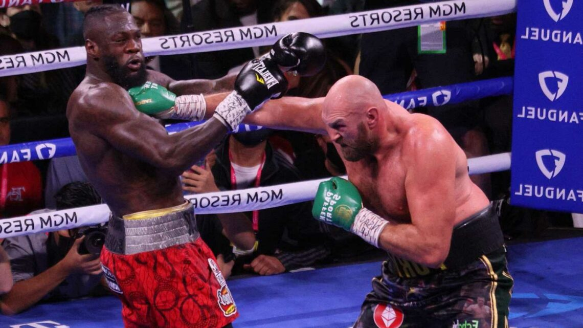 Deontay Wilder handed six-month suspension after brutal Tyson Fury defeat and banned from ring until next April