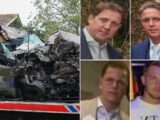 Father, son and nephews died when truck slipped and smashed into tree