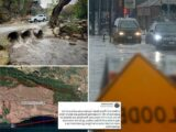 First wildfires now floods: Californians ordered to shelter-in-place