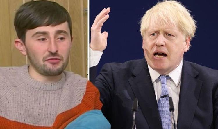 Goggleboxs Pete savages Boris Johnson over £500 wallpaper amid Universal Credit cut