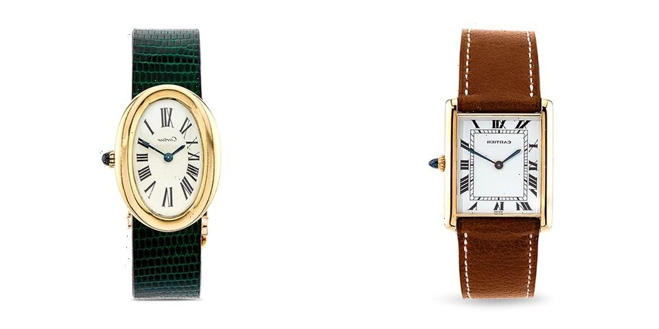 Harry Fane and Dover Street Market London Present More Fine Vintage Cartier Watches
