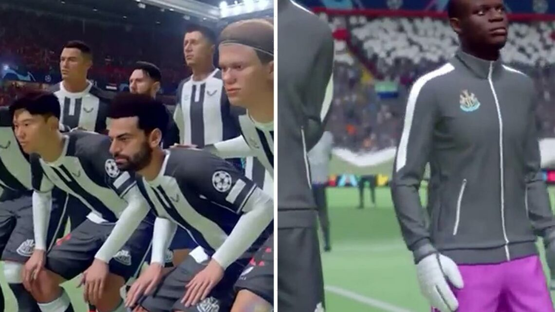 Hilarious Fifa 22 clip predicts Newcastle's line-up next season including Haaland, Neymar, Messi and De Bruyne