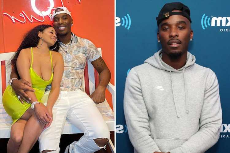 Hitman Holla's girlfriend shot in the face during terrifying home break-in as rapper says she 'let off shots' at raiders