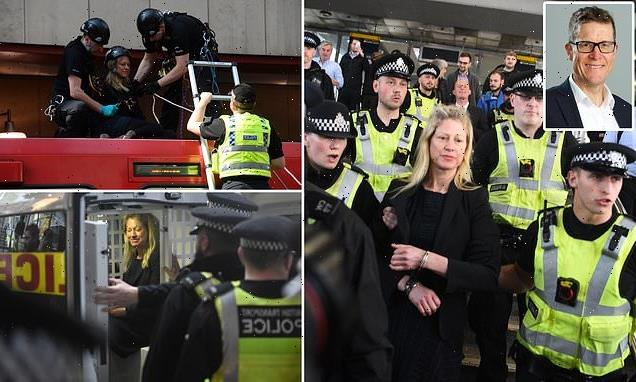 Insulate Britain protester is married to £170,000-a-year TfL boss