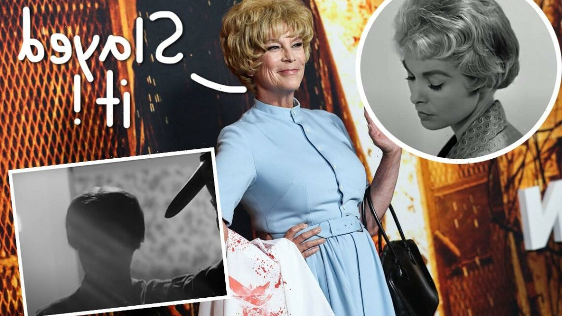 Jamie Lee Curtis Recreates Her Mom's Iconic Psycho Look For Halloween Kills Premiere – Must-See!