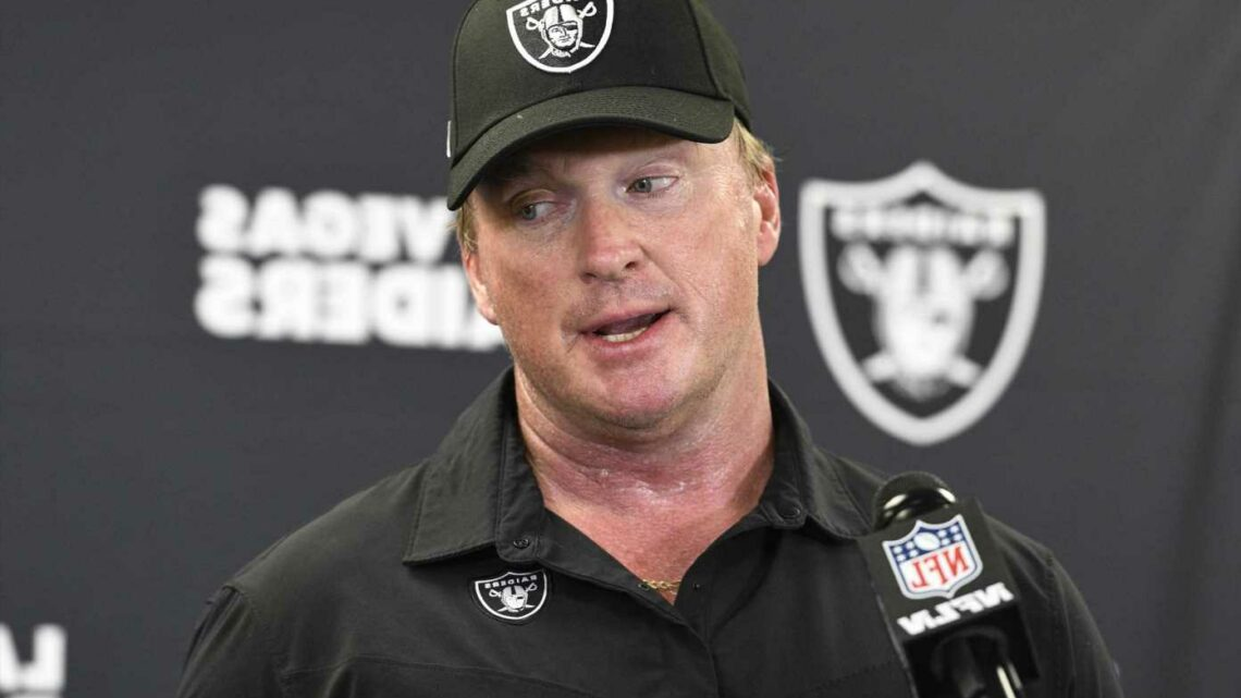 Jon Gruden quits as Las Vegas Raiders head coach after alleged racist, sexist and homophobic emails he sent are leaked
