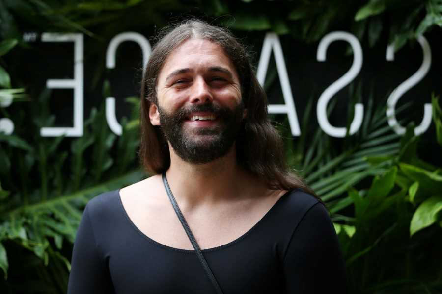 Jonathan Van Ness Dishes on His New Haircare Line's 'Game-Changing' Ingredient and the Time He Lit His Hair on Fire