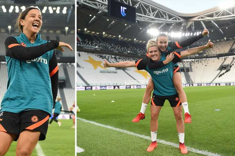 Juventus vs Chelsea women's clash in Champions League will have 20,000 fans present for Group A showdown