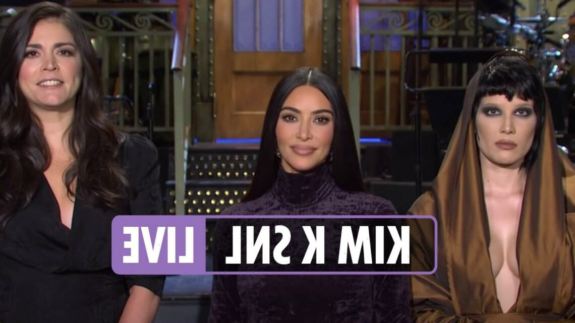 Kim Kardashian SNL LIVE – Kanye West, Kris Jenner & Khloe join reality star heading to NYC studio for hosting debut