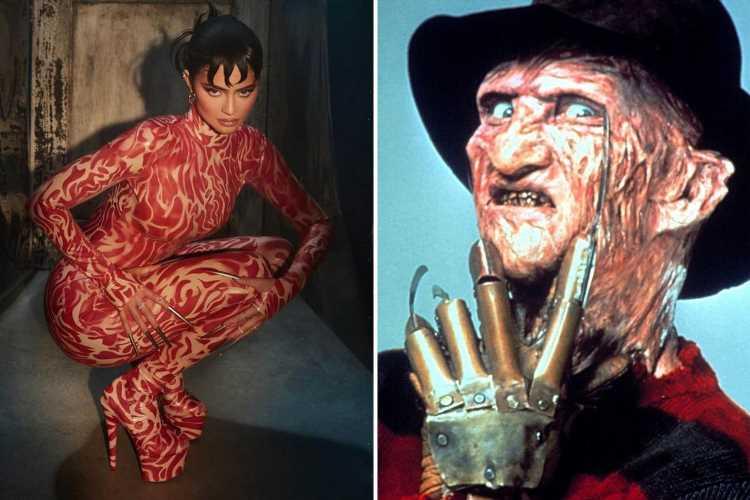 Kylie Jenner slammed for new Nightmare on Elm Street makeup line as fans say 'no one wants lashes like Freddie Kruger!'