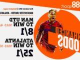 Manchester United vs Atalanta betting – odds boost: Man Utd to win at 8/1 or Atalanta at 25/1 (max bet £5)