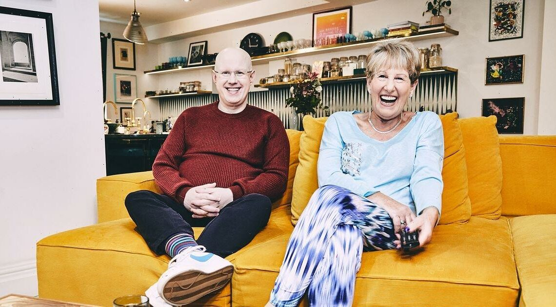 Matt Lucas and mum chuffed to join Celebrity Gogglebox for Stand Up to Cancer