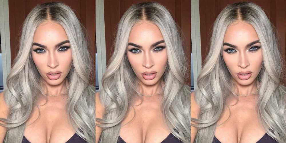 Megan Fox Debuts Icy Platinum Blonde Hair
