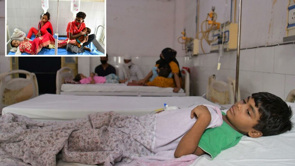 Mystery fever kills 24 kids with eight children dying within HOURS of falling ill as outbreak sweeps through India